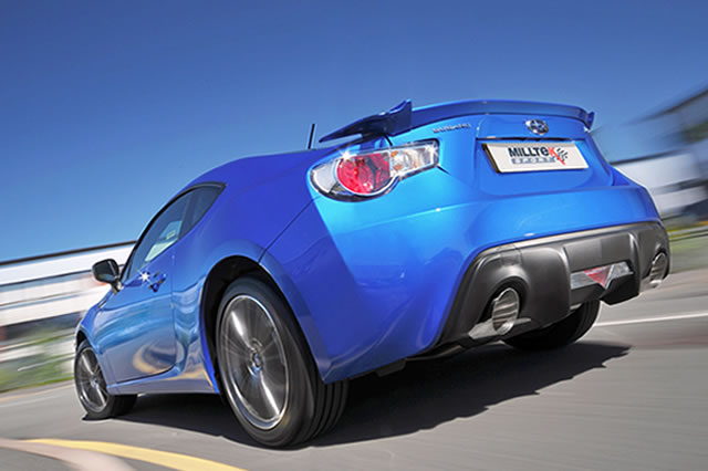 Milltek Exhaust Scion FR-S 2.0-litre Secondary Cat-back with Dual GT115 tailpipe  (SSXSB030)
