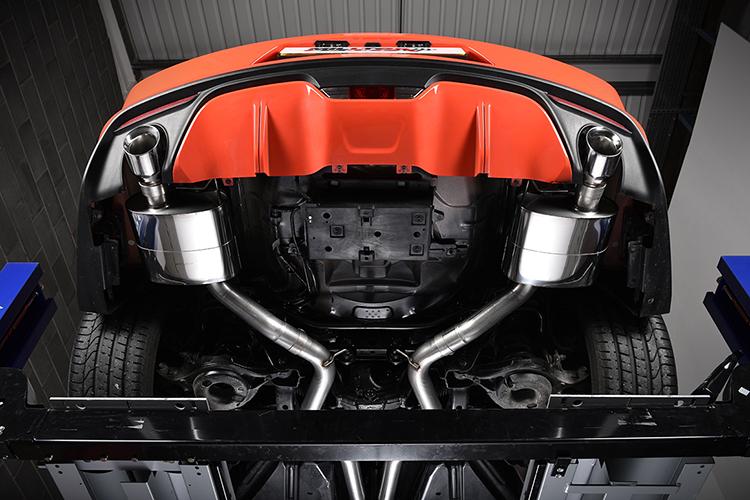 Mustang Ecoboost Milltek Cat Back Exhaust SSXFD173