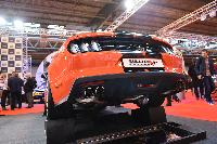 Mustang 5.0 V8 Milltek Non Resonated Cat Back Polished Quad GT90 Tips