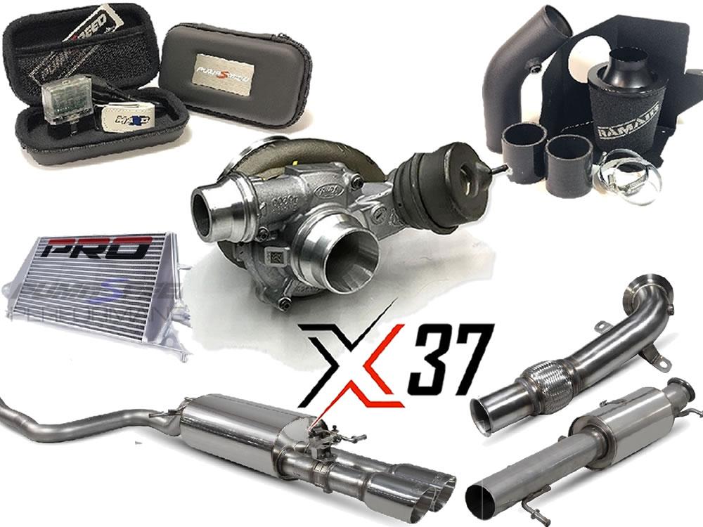 Pumaspeed Fiesta Mk8 X37 Stage-3 300 power kit