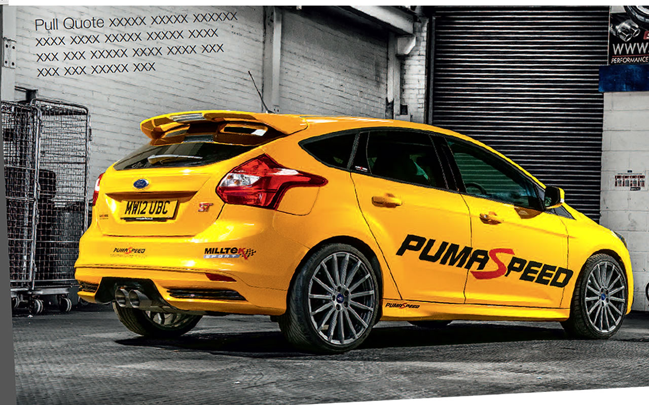 pumaspeed focus st250 300bhp power upgrade kit now available. Black Bedroom Furniture Sets. Home Design Ideas