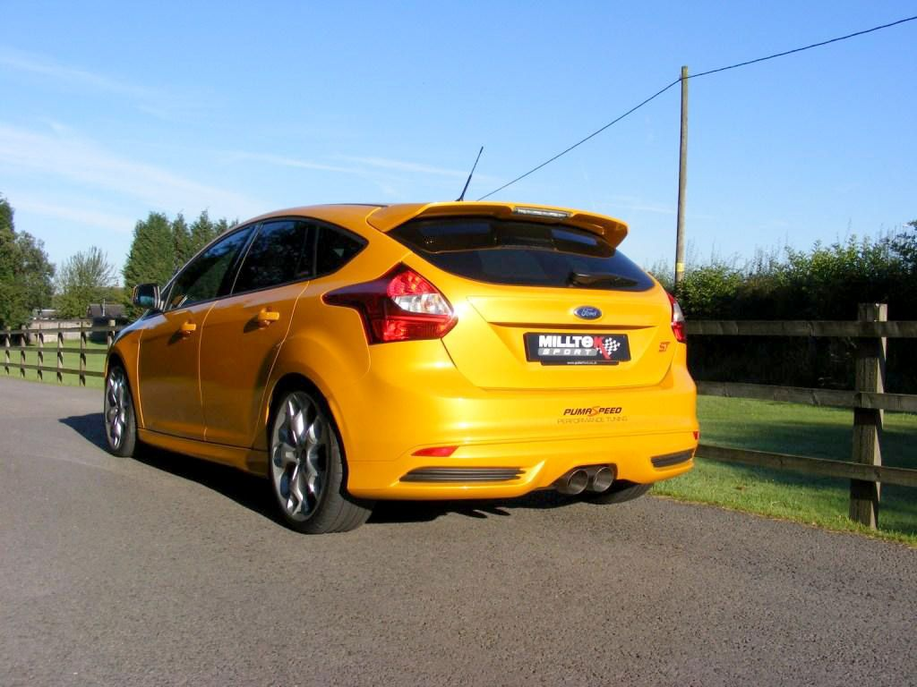 milltek sport focus st 250 cat back exhaust half. Black Bedroom Furniture Sets. Home Design Ideas
