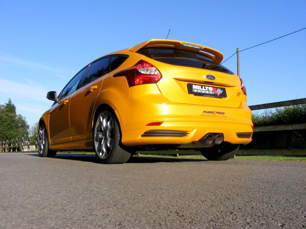 milltek sport focus st 250 cat back exhaust resonated. Black Bedroom Furniture Sets. Home Design Ideas