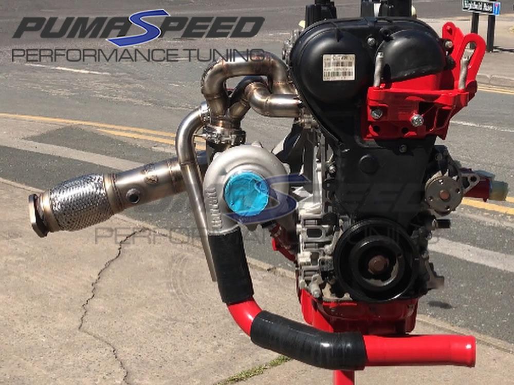 Pumaspeed Garrett G25-550 External Wastegate Turbo kit