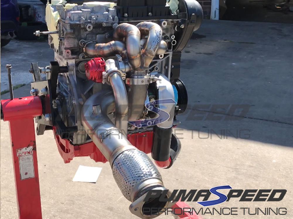 Pumaspeed Garrett G25-550 reverse rotation Turbo kit