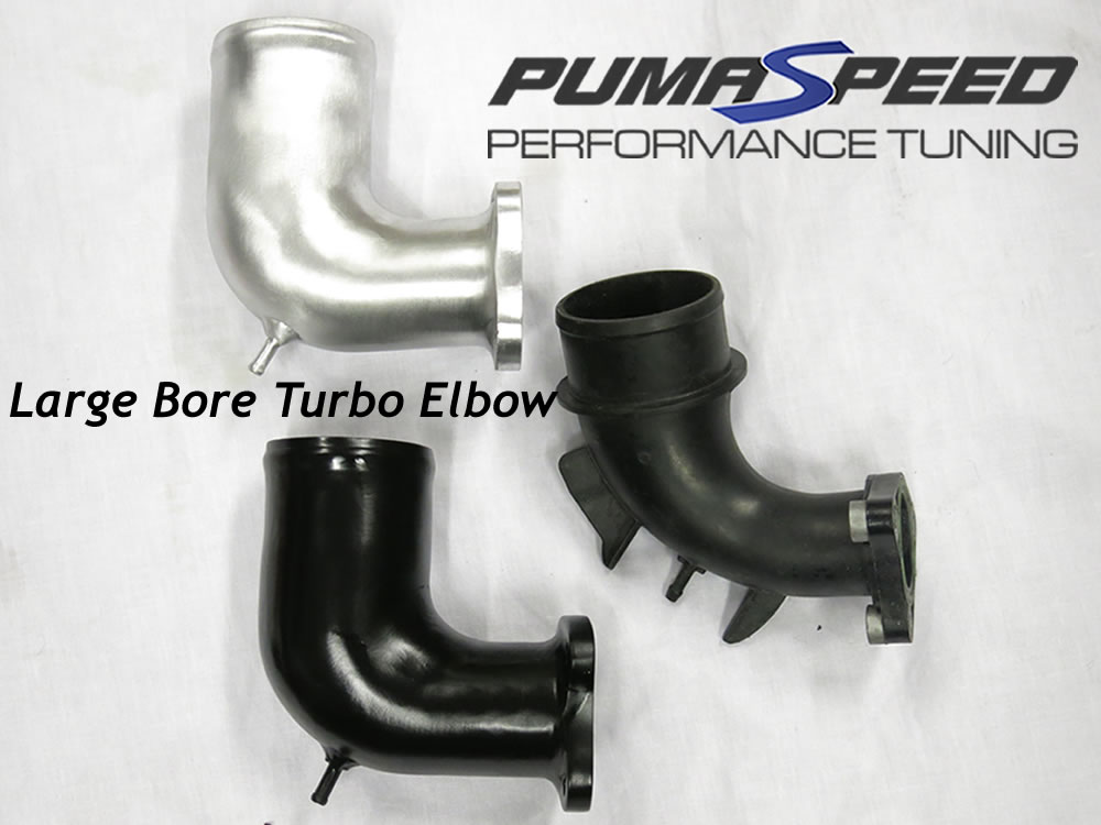 Large Bore Intake Elbow for Hybrid Turbo  Fiesta ST180