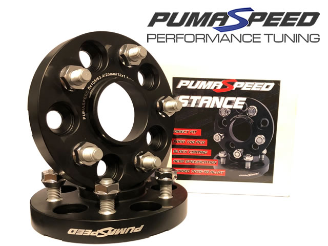 Pumaspeed Racing 20mm 5 Stud Wheel Spacers