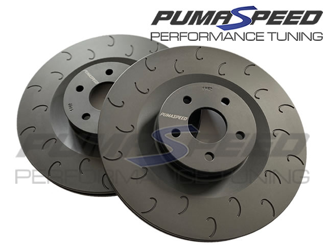 Focus RS Mk2 Pumaspeed Racing Front Brake Discs