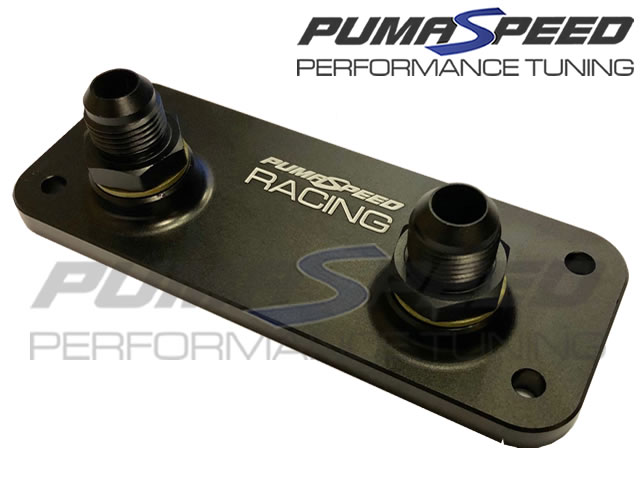 Pumaspeed Racing Focus ST/RS Mk2 Remote Oil cooler Adapter Plate