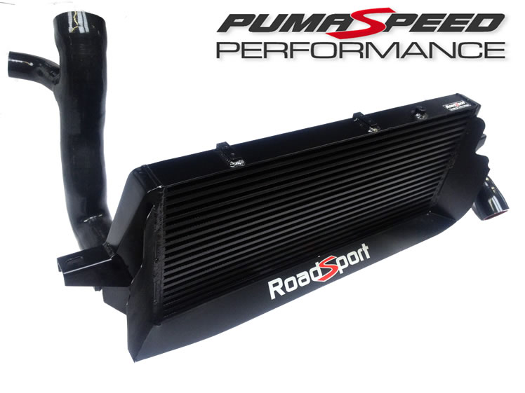 Pumaspeed Roadsport RS Style Stage3 Large bore 60mm Focus ST 225 Intercooler and pipe kit