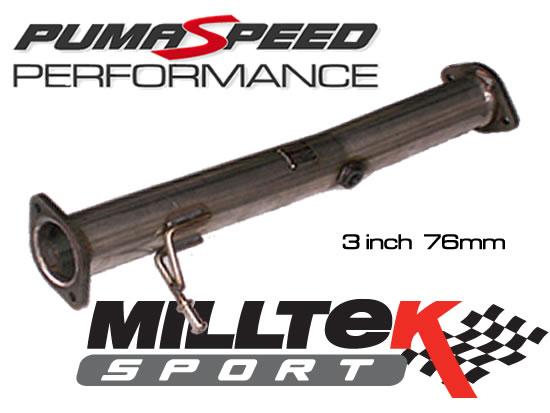 Pumaspeed Ultimate 3 inch decat focus st by Milltek Sport