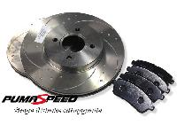 Fiesta Mk7 Stage 1 Front Brake Upgrade Kit (260mm)