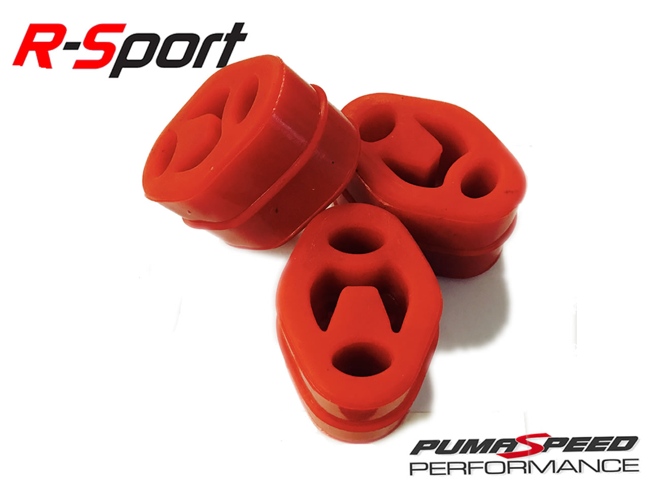 R-Sport Silicone  exhaust mounts