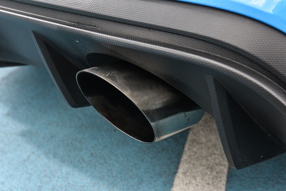 Ford Focus RS MK3 Milltek Cat Back Exhaust (Non Resonated)