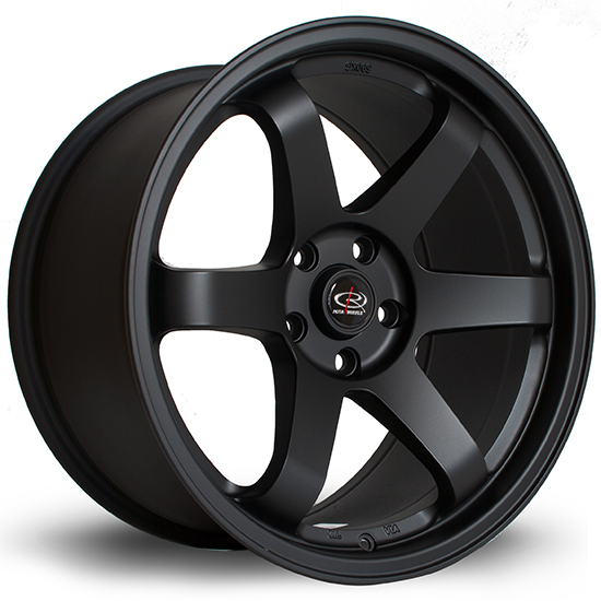18 inch Rota Grids Black
