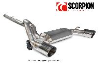 Ford Focus RS MK3 Scorpion Cat Back Exhaust (No Valve)