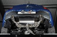 Rear Silencer(s) with Twin 90mm GT90 tailpipe (SSXBM960) Image