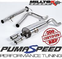 **SPECIAL OFFER** Fiesta ST 180 Cat Back Exhaust FREE EXHAUST MOUNTS AND SHIPPING