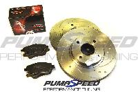 Fiesta ST180 Stage 1 Front Brake Upgrade Kit (280mm)