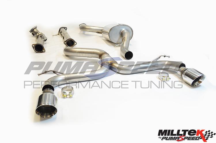 ST225 Ultimate Turbo Back Milltek Exhaust Decat