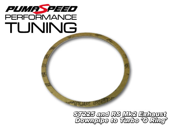 turbo to downpipe 39 o ring 39 gasket suits focus st225 and rs. Black Bedroom Furniture Sets. Home Design Ideas