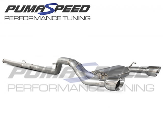 Scorpion Focus RS Mk3 Cat Back Exhaust (Non Valved)