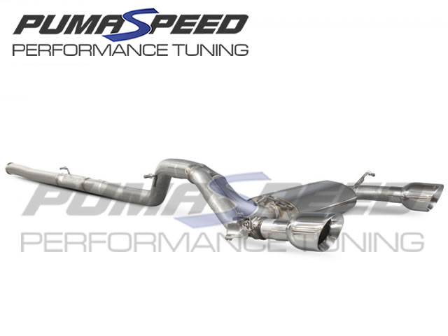 Scorpion Focus RS Mk3 Cat Back Exhaust (Valved)