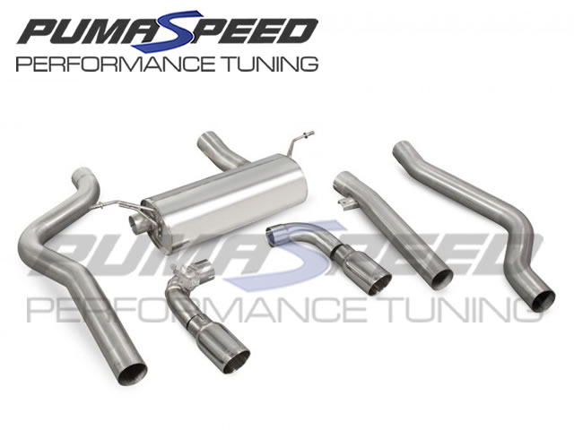 Scorpion M140i Non-Resonated Cat Back Exhaust
