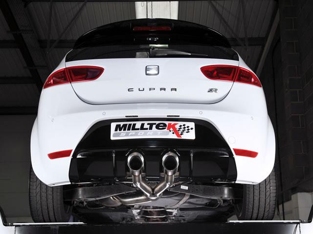 Milltek Sport Exhaust Seat Leon Cupra R 2.0 TSI 265PS ...