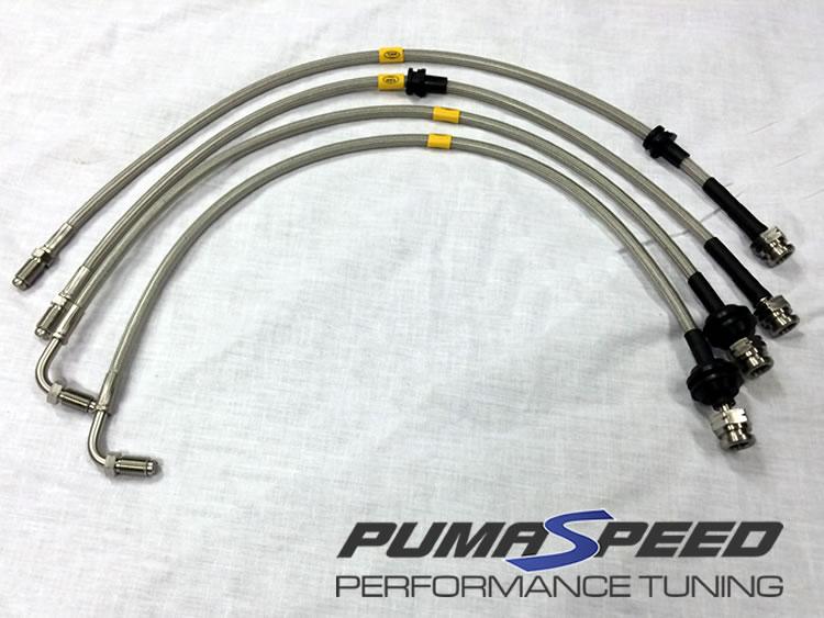 Pumaspeed Stainless Steel Brake Hoses Fiesta ST150