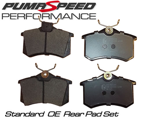 Standard OE Replacement Rear Pad Set