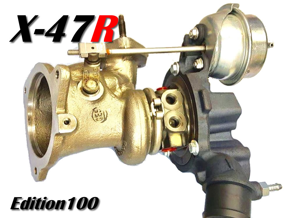 X-47R turbocharger st fiesta. edition 100