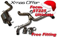 Xmas Offer Milltek Sport Ultimate Ford Focus ST 225 Race Cat Back System