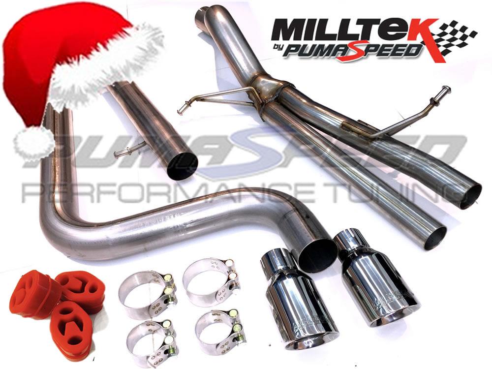Xmas Special Fiesta ST Milltek super sport exhaust system
