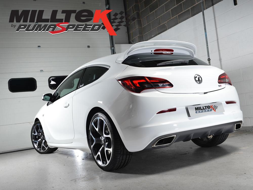 Milltek Sport Exhaust Vauxhall Opel Astra J Mk6 Vxr Cat