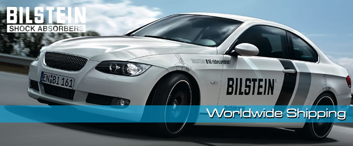 Fast Worldwide Delivery of UK Bilstein Stock.