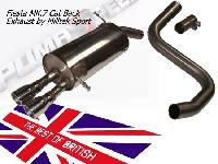 The New Mk7 Fiesta TDCi fitted with milltek sport cat back exhaust System