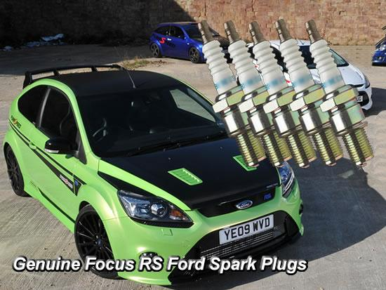 focus rs mk2 2009 Spark plug set