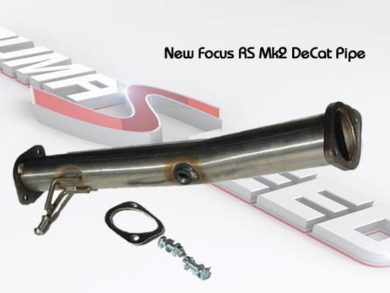Focus RS mk2 decat milltek sport