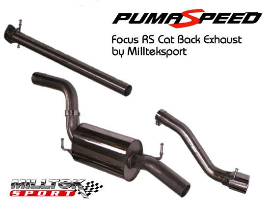 Focus RS Stainless exhaust  by milltek sport
