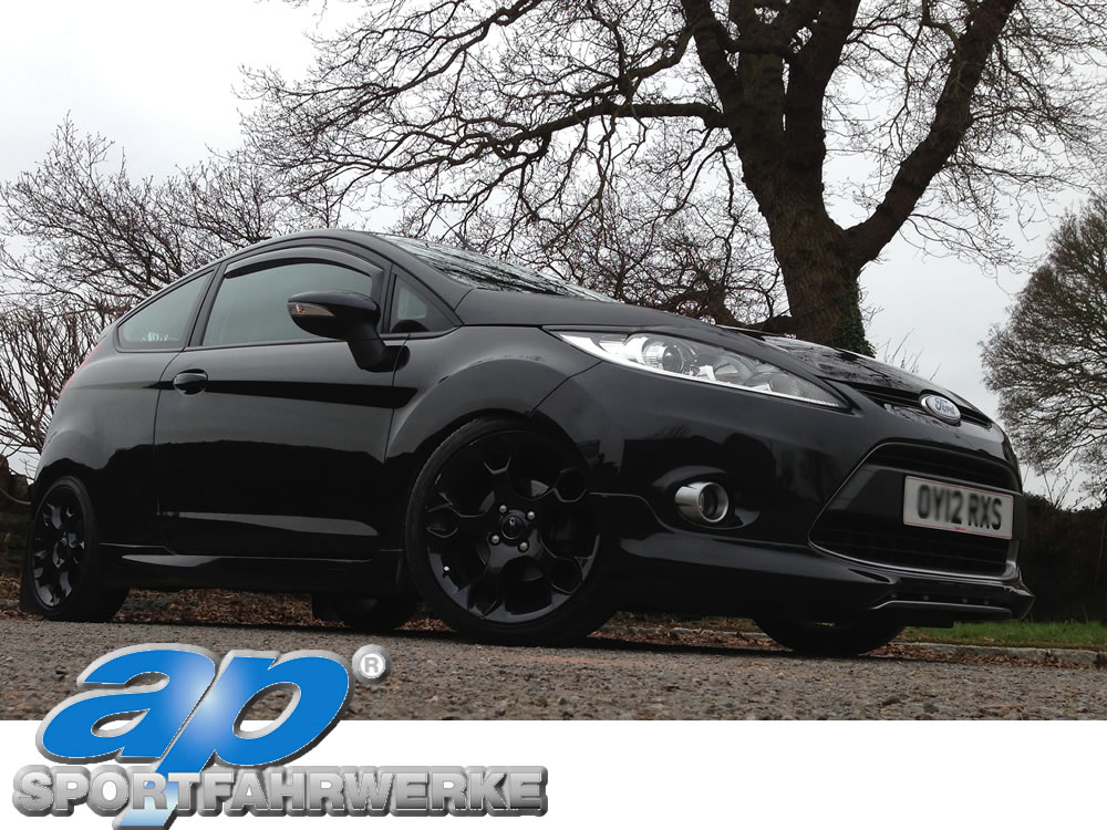 ford fiesta mk7 ecoboost with AP coilover suspension