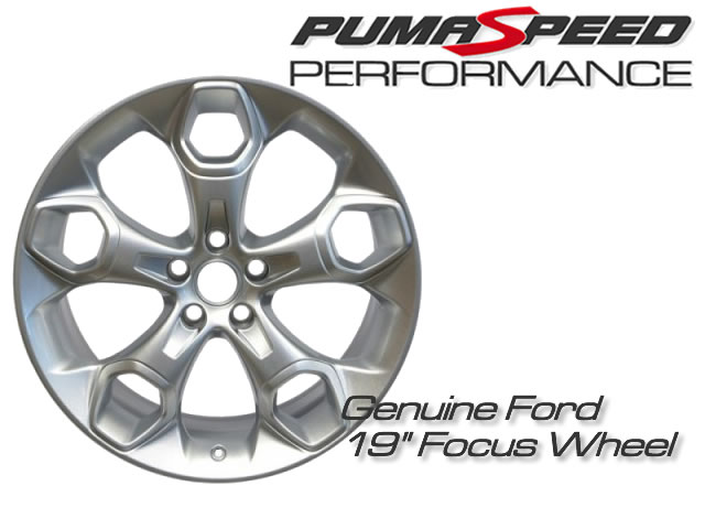Genuine Ford 19 inch wheel to suit all 5 stud applications including ST225 and Focus Mk3 ST250