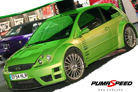 Pumaspeed Wide Arched Fiesta JWRC Bodykit (ST 150 ...