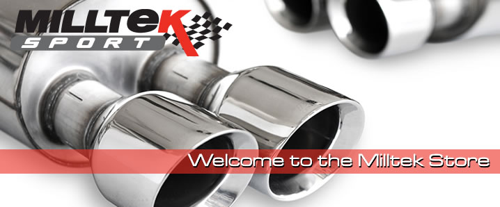 World's largest stockest of Milltek Sport exhausts.