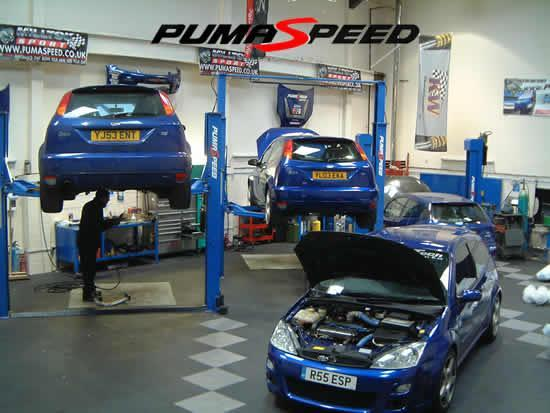 Full Service for your Ford Vehicle at the Pumaspeed