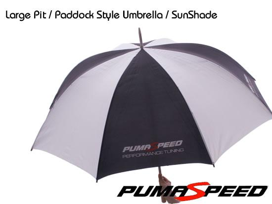 Keep cool with this pumaspeed umbrella / sunshade