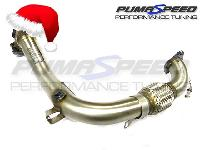 Xmas Offer Milltek Sport Fiesta 1.0 turbo EcoBoost Large Bore Downpipe and De Cat